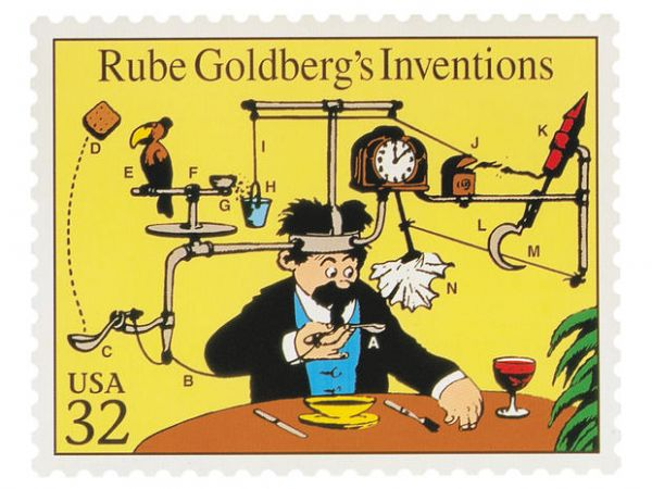 Art and Science of Rube Goldberg @EvaVarga.net