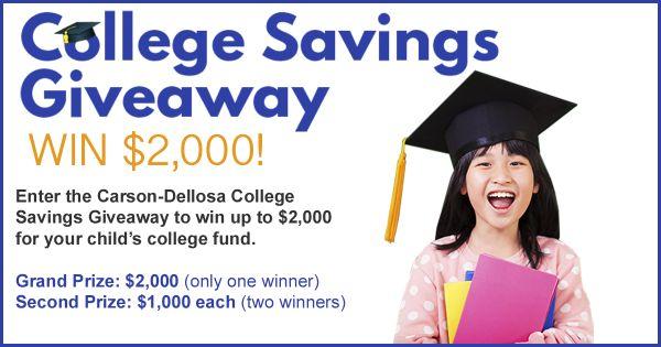 Carson-Dellosa College Saving Contest