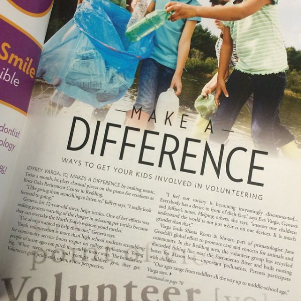 Volunteer Opportunities for Kids @EvaVarga.net