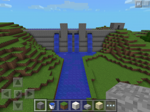 Minecraft Model Shasta Dam