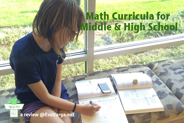 LifeofFred Math Curricula