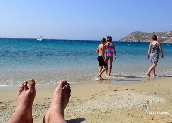 Mykonos beaches @EvaVarga.net