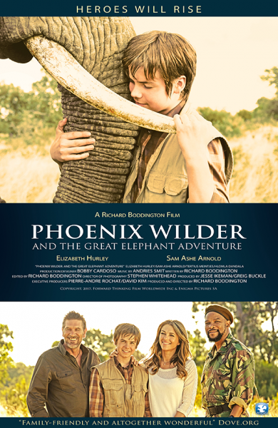 movie poster for Phoenix Wilder: And the Great Elephant Adventure