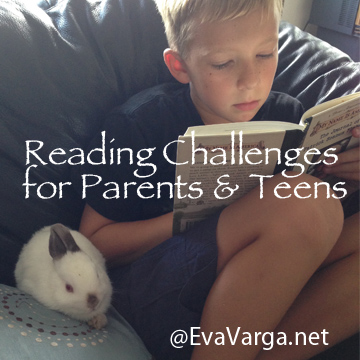 Reading Challenges for Parents & Teens @EvaVarga.net