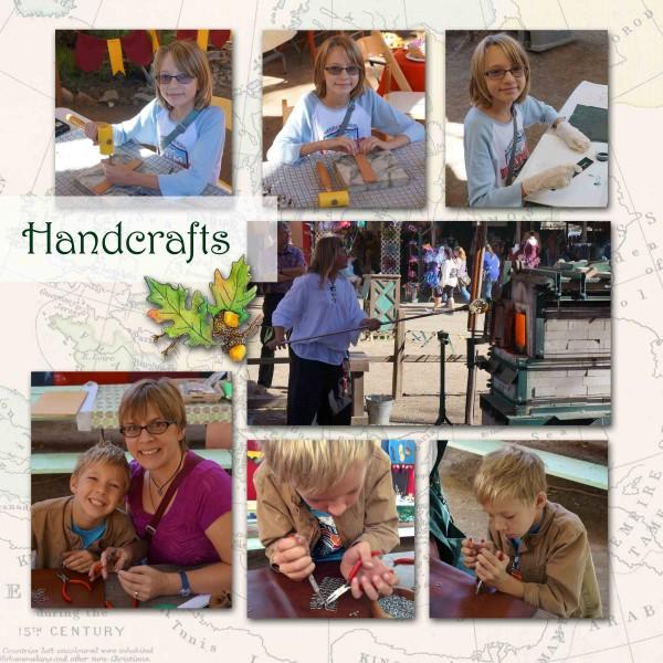 Renaissance Faire Handcrafts