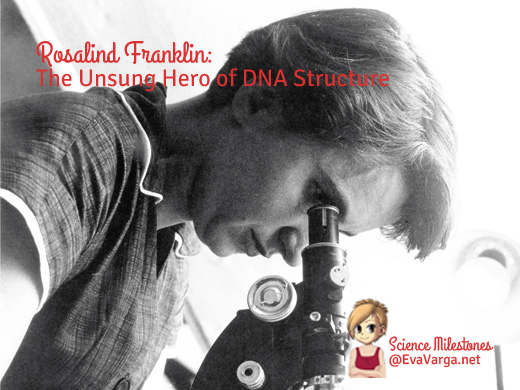 Unsung Hero of DNA Structure @EvaVarga.net