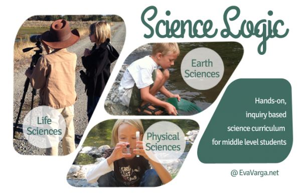 Science Logic Curriculum: Hands-on, inquiry based science curriculum for middle level students. @EvaVarga.net