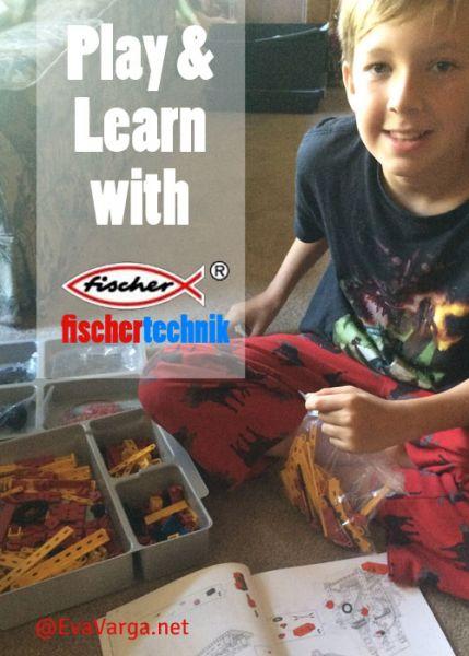 Play & Learn with Fischertechnik @EvaVarga.net