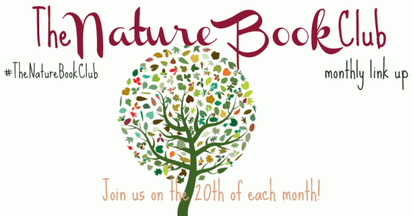 simple graphic image of tree with text The Nature Book Club