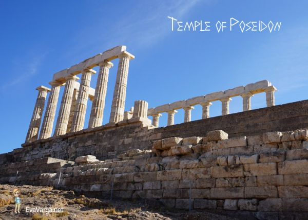 Ancient Athens: Temple of Poseidon @EvaVarga.net