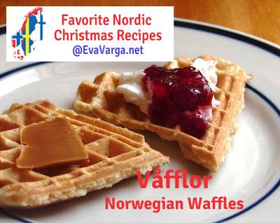 5 Favorite Christmas Recipes: Våfflor @EvaVarga.net