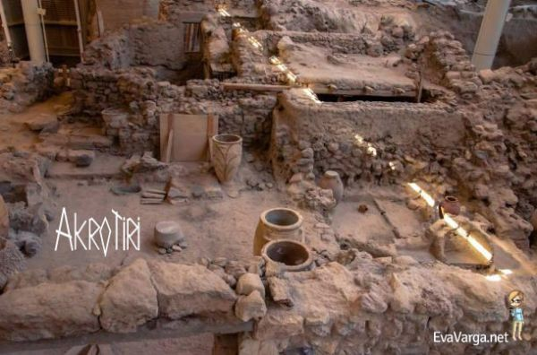 The Lost City of Akrotiri, Santorini @EvaVarga.net