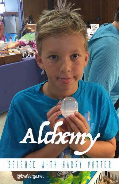 Science with Harry Potter: Alchemy @EvaVarga.net