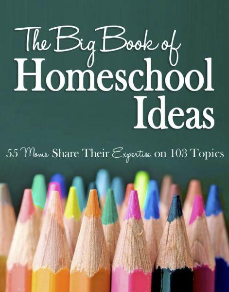 big book homeschool ideas