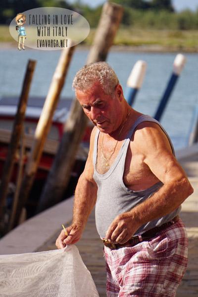 burano fisherman