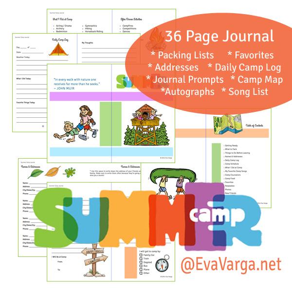 camp journal