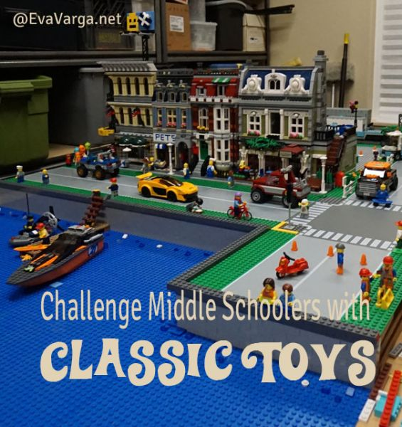 Challenge Middle Schoolers with these Classic Toys @EvaVarga.net