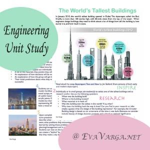 Engineering: World's Tallest Buildings Unit Study