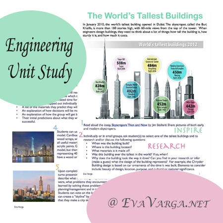 Engineering: World's Tallest Buildings Unit Study