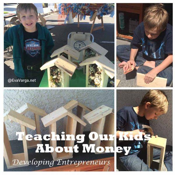 Teaching Our Kids About Money (free printable) @EvaVarga.net