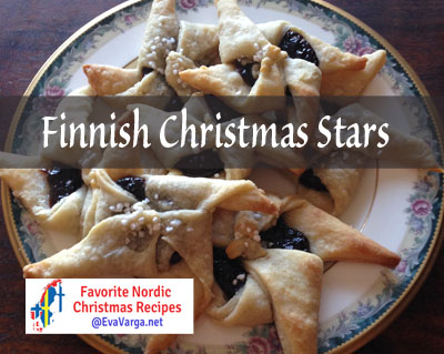 5 Favorite Christmas Recipes: Finnish Christmas Stars @EvaVarga.net
