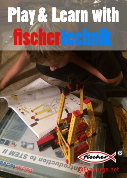 Play & Learn with Fischertechnik @EvaVarga.net