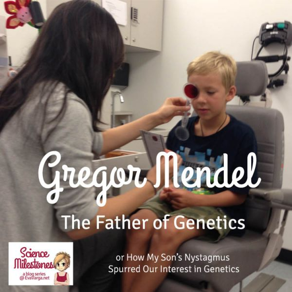 The Father of Genetics, Gregor Mendel @EvaVarga.net