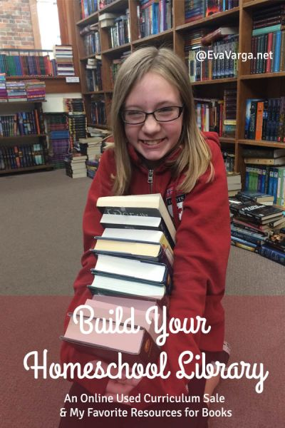 Build Your Homeschool Library @EvaVarga.net
