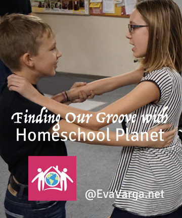Finding Our Groove with an Online Homeschool Planner by Homeschool Planet @EvaVarga.net
