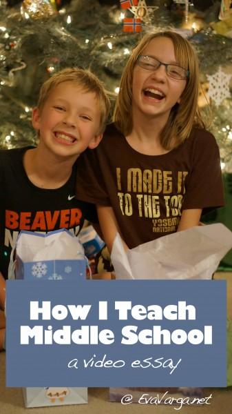 How I Teach Middle School