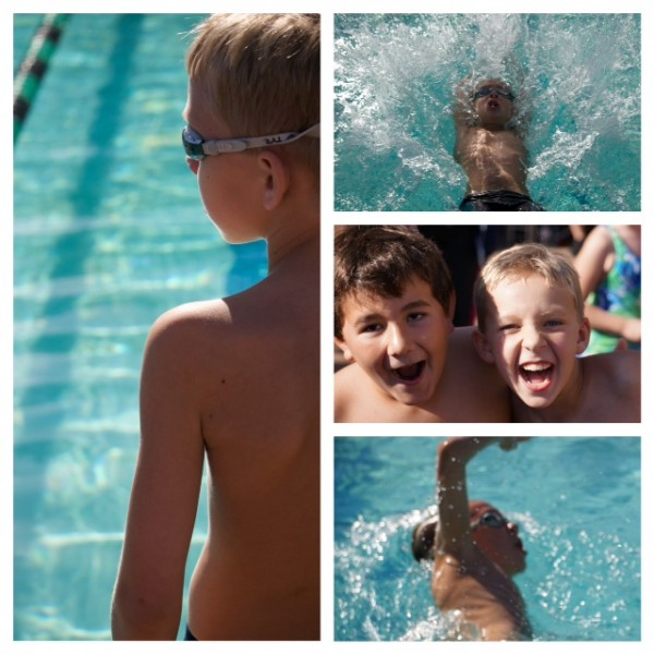 Buddy @ AGO swim meet