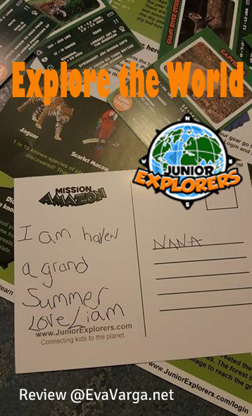 Explore the World with Junior Explorers @EvaVarga.net