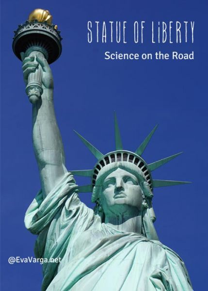 Science of Oxidation and the Statue of Liberty @EvaVarga.net