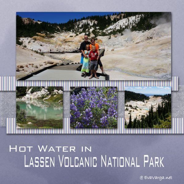 mount lassen volcano