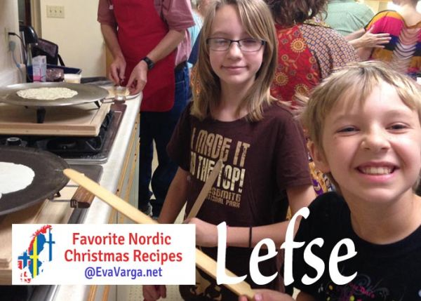 5 Favorite Christmas Recipes: Lefse @EvaVarga.net