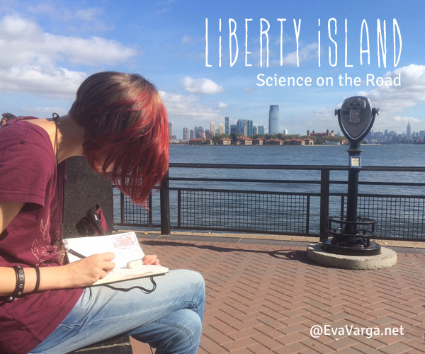 Science & Art of Liberty Island and the Statue of Liberty @EvaVarga.net