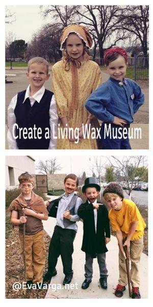 Create a Living History Day @EvaVarga.net