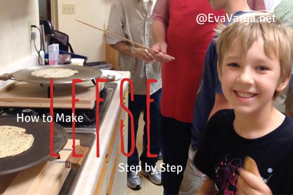How to Make Lefse: Step by Step @EvaVarga.net