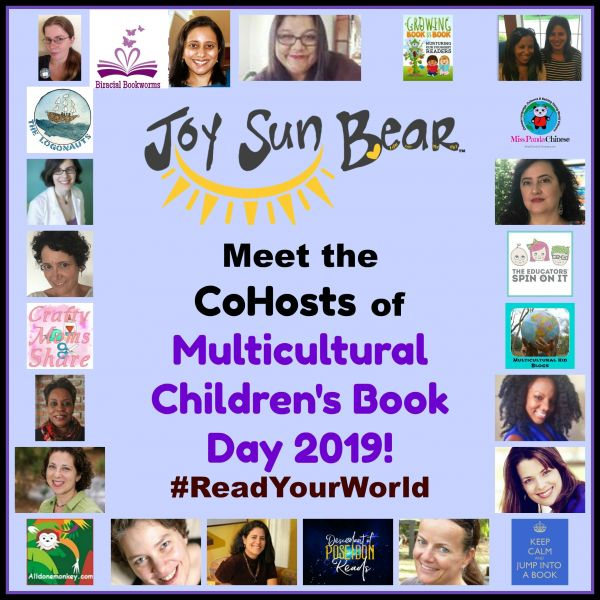 Collage image of each of the Multicultural Children's Book Day Co-Host Team