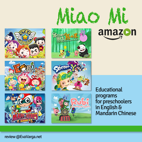 Miao Mi Amazon Channel Review @EvaVarga.net