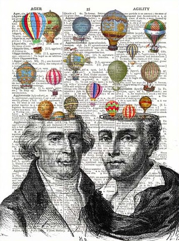 Science Milestones: The Montgolfier Brothers @EvaVarga.net