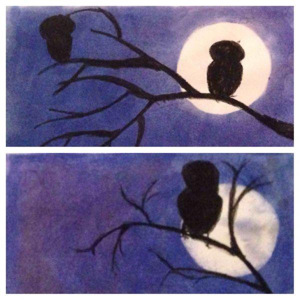 owl silhoutte