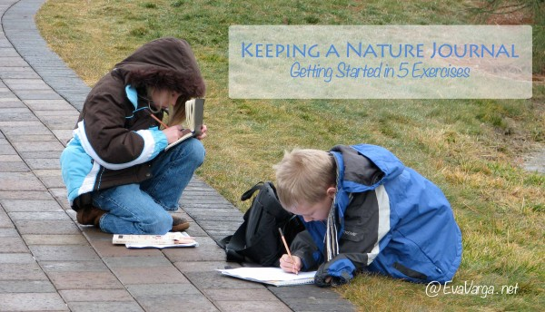 nature journaling in 5 exercises
