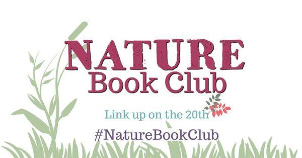 simple graphic image of green grass on white background with text Nature Book Club