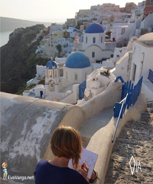 Paradise of Oia @EvaVarga.net
