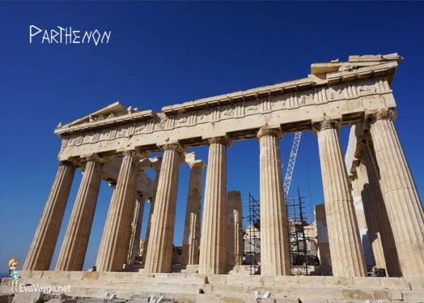 Ancient Athens: The Parthenon @EvaVarga.net