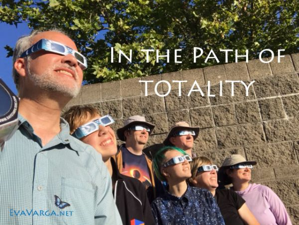 path of totality - solar eclipse