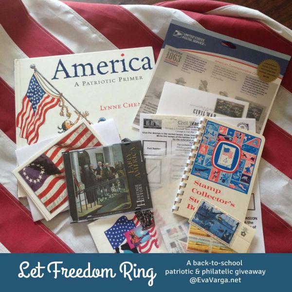 patriotic philatelic giveaway