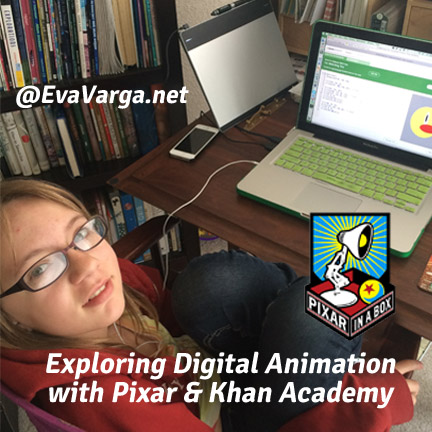 Exploring Digital Animation with Pixar & Khan Academy @EvaVarga.net