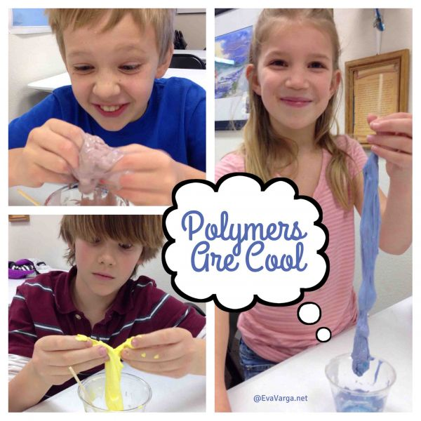 Polymers Are Cool: 3 Recipes for Middle School @EvaVarga.net
